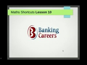 Shortcut Lesson 10:  Find Principal Using Difference in SI & CI for 2 or 3 Years