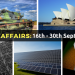Enhance Current Affairs: Know 60 Important Happenings Between 16th September to 30th September 2016