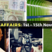 Enhance Current Affairs: Know 55 Important Happenings Between 1st November to 15th November 2016