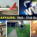 Strengthen Current Affairs: Know 57 Important Happenings Between 16th October to 31st October 2016