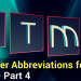 Enhance Your Computer Awareness by Learning 30 Easy Abbreviations – Part 4