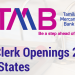 TMB Clerk Openings 2017 For 8 States