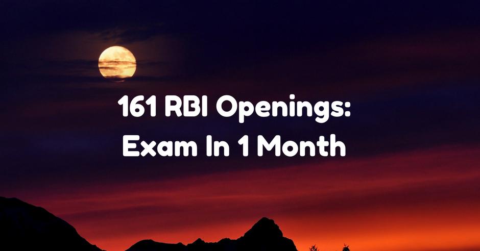 RBI Openings