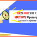 IBPS RRB Recruitment 2017: Massive 15000+ Openings