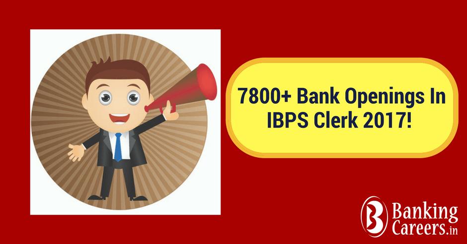 IBPS Clerk 2017