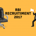 RBI Assistants Recruitment 2017: 623 Openings