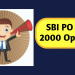 SBI PO Recruitment 2018: 2000 Openings