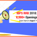 IBPS RRB Recruitment 2018: 8,000+ Openings